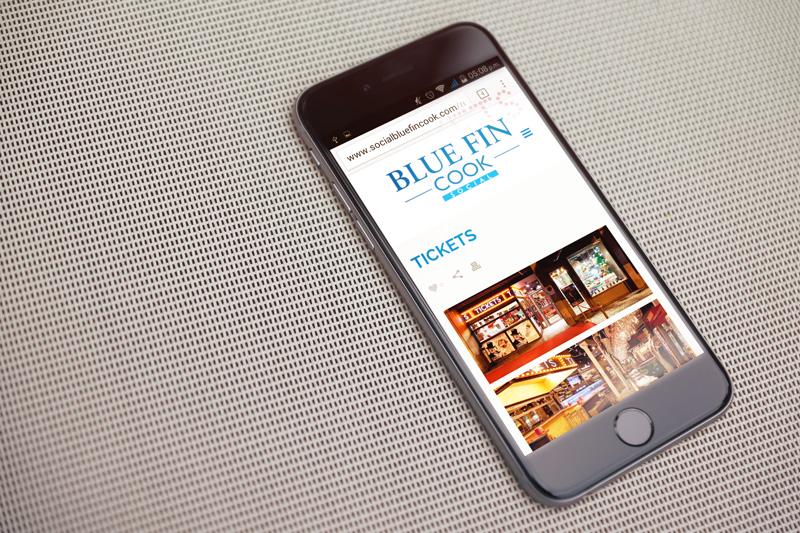 Social Blue Fin Cook mobile